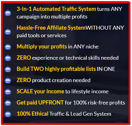 triple traffic bots features