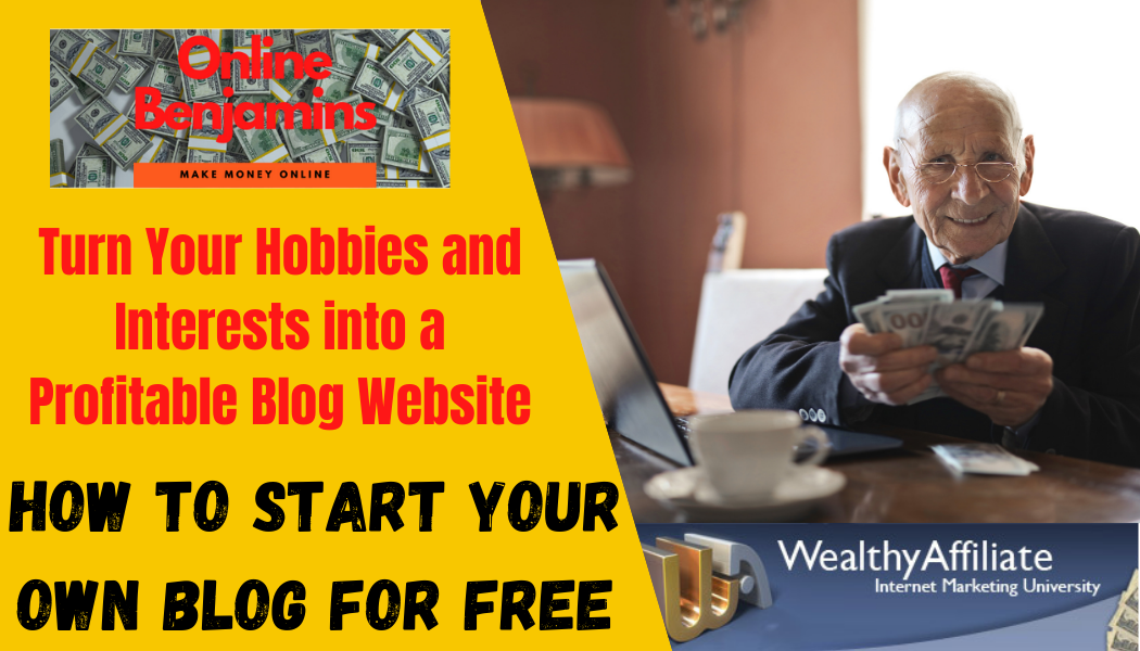 How to start your own blog free