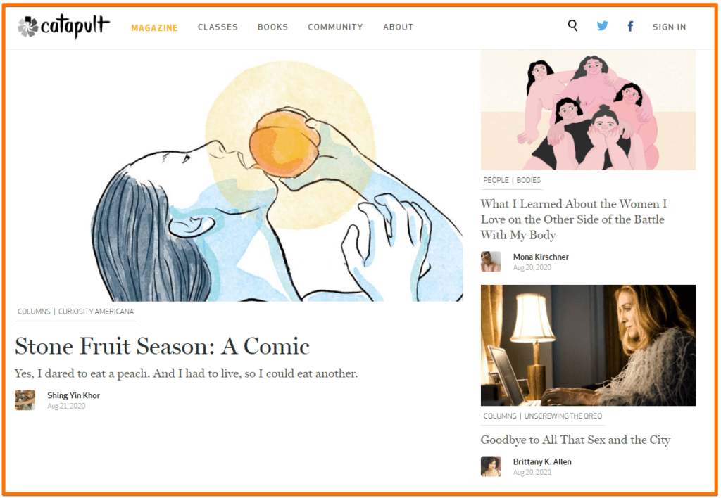 literary blog