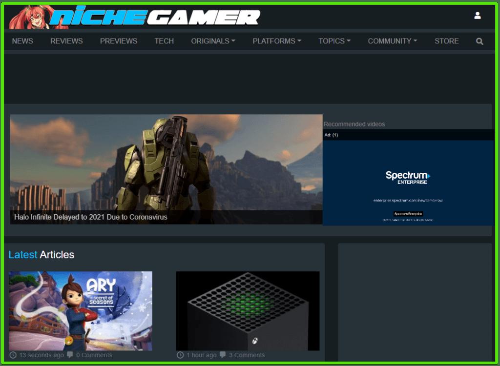 video game blog