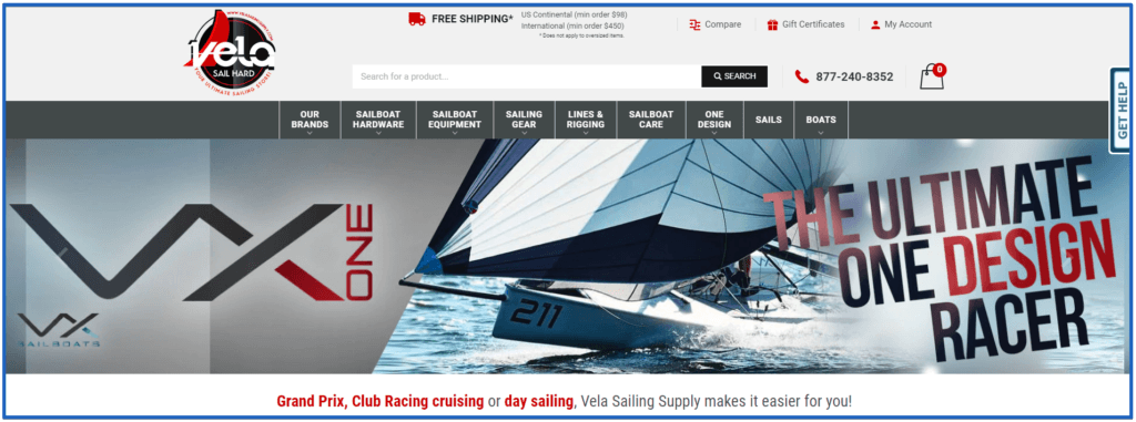 sailing - sailing supplies