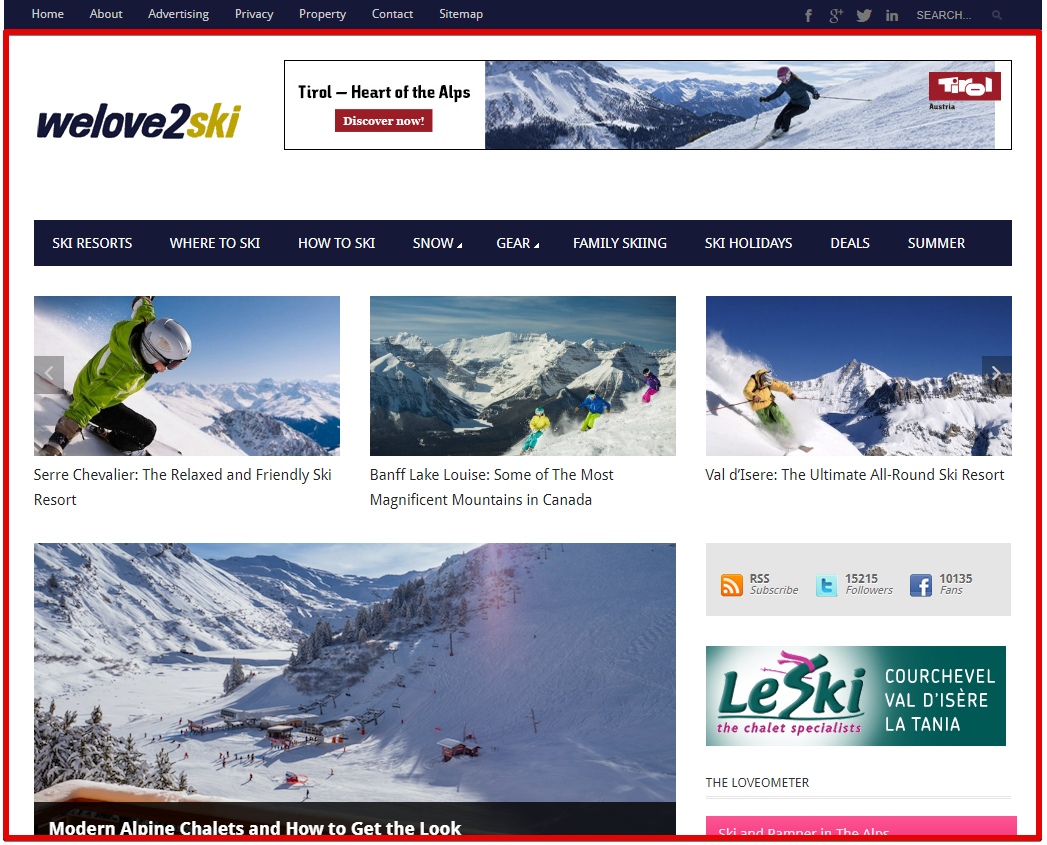 skiing - ski travel destination site
