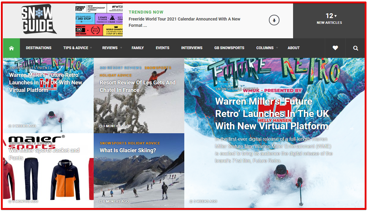 skiing - ski blog