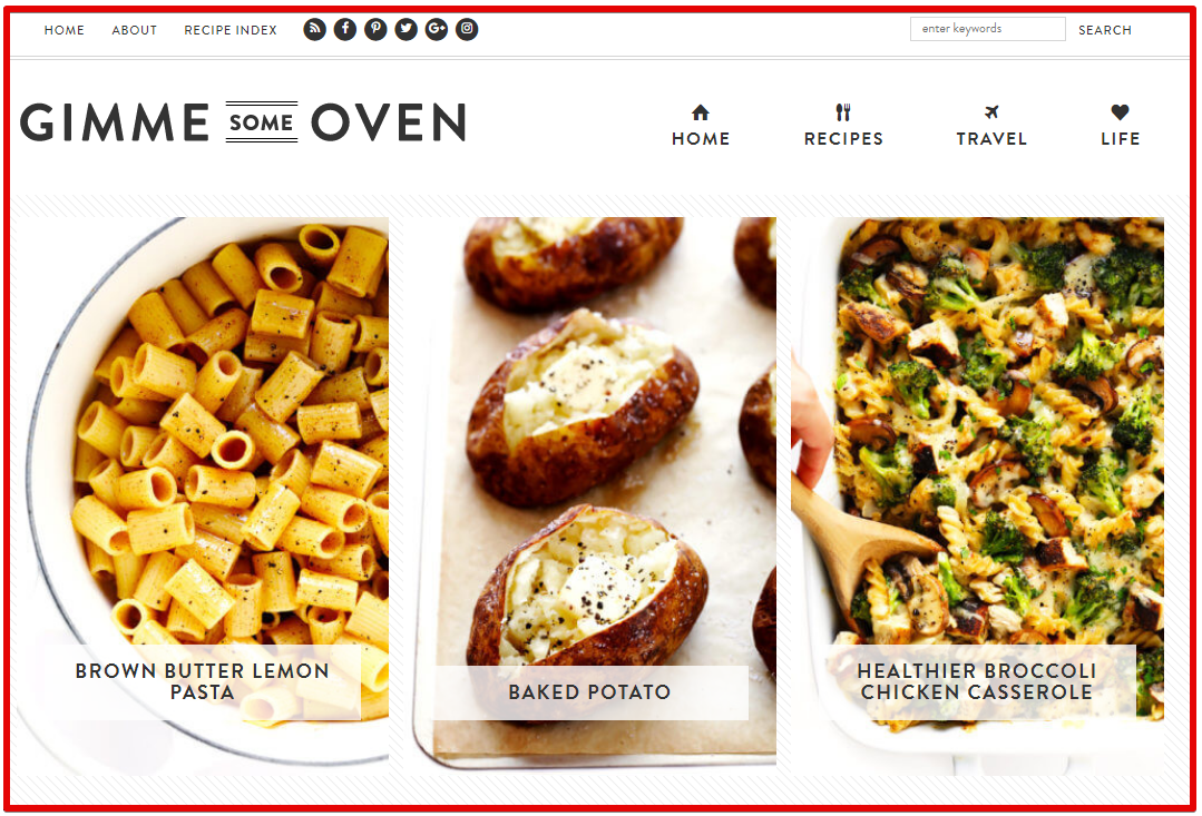 food blog - make money online from cooking