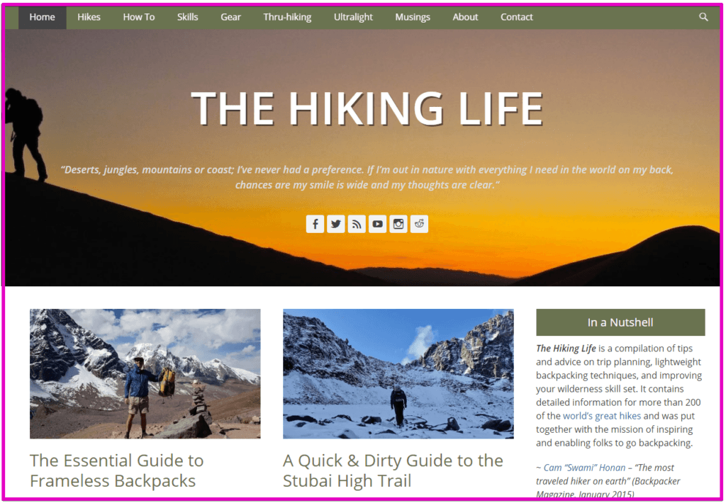 hiking - hiking blog