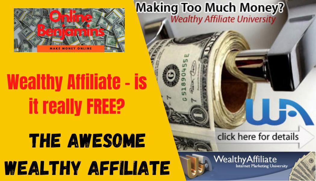 wealthy affiliate - is it free