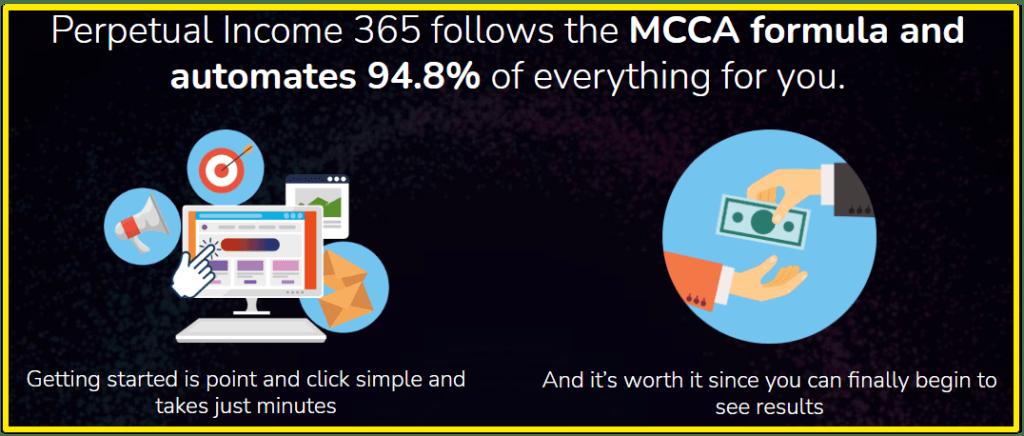 perpetual income 365 MCCA formula