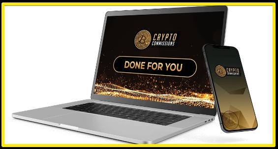 Crypto Commissions DFY crypto sites