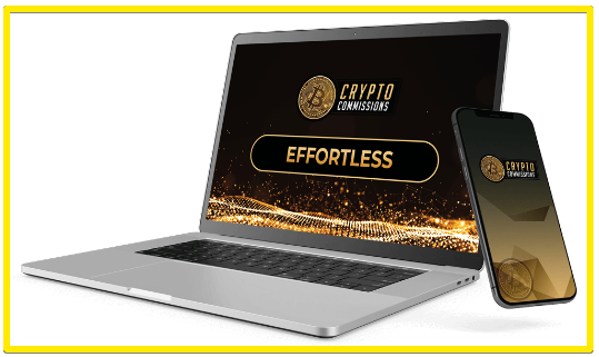 Crypto commissions effortless site builder
