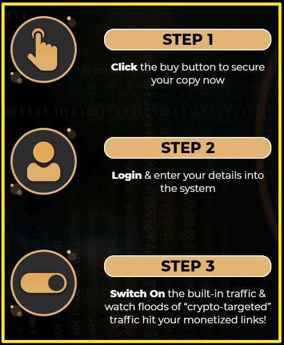 crypto commissions 3 step formula
