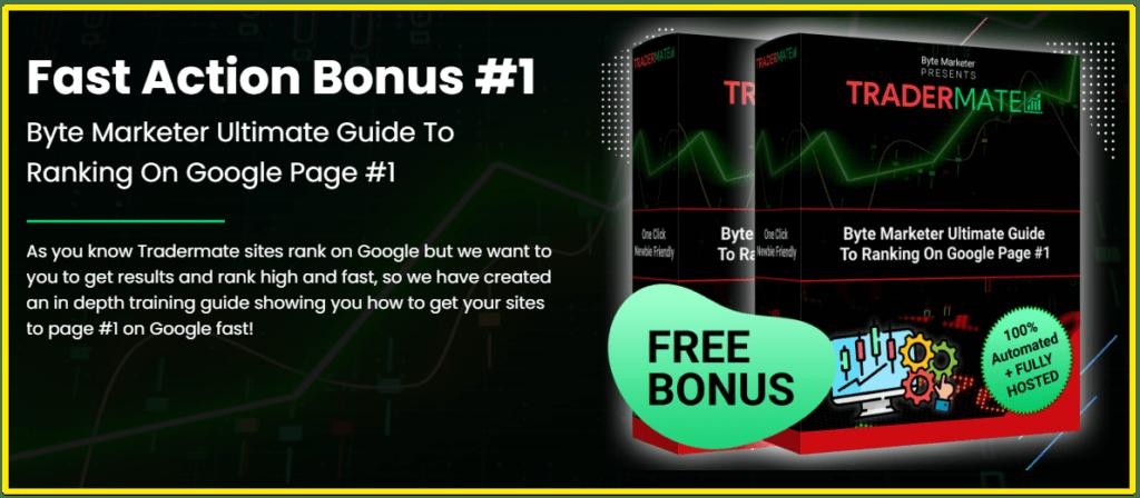 Tradermate bonus 1