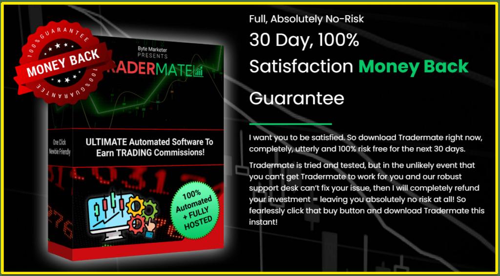 tradermate guarantee