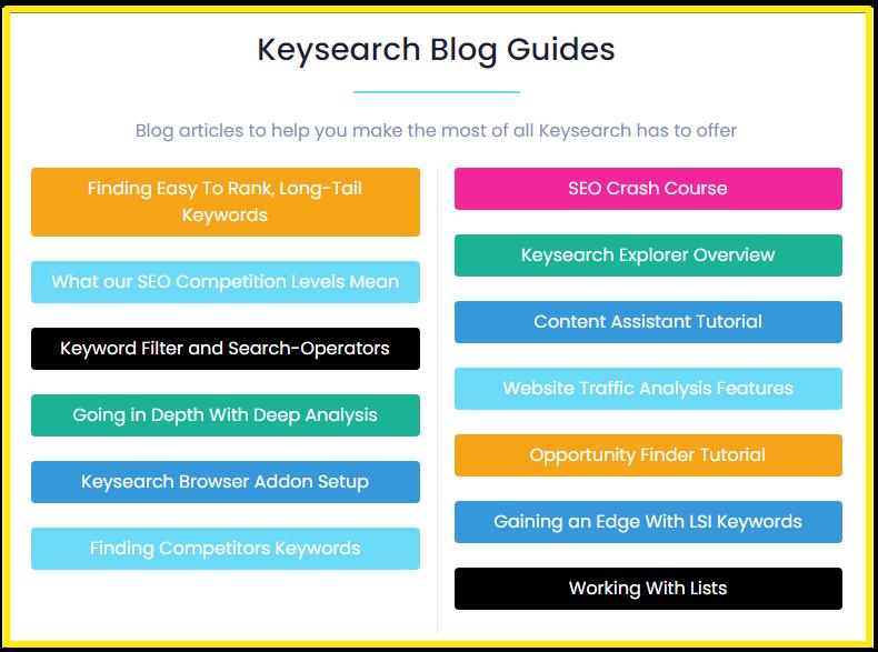 KeySearch bloggers training