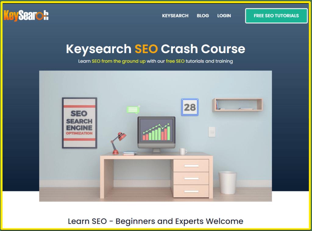 KeySearch online SEO course