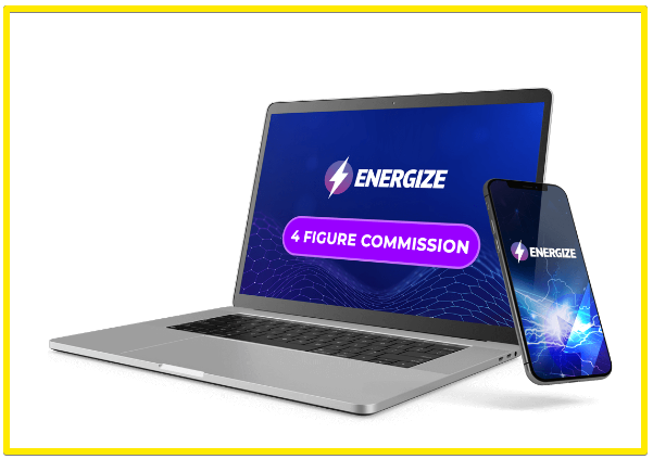 energize 4 figure commission