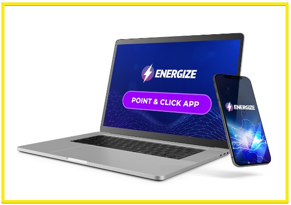 energize point and click app