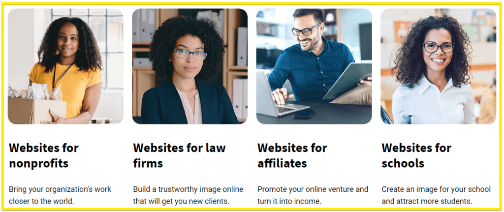 GetResponse website builder - who is it for?