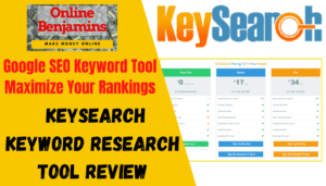 keyword research with KeySearch feature