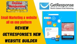 GetResponse Website builder review