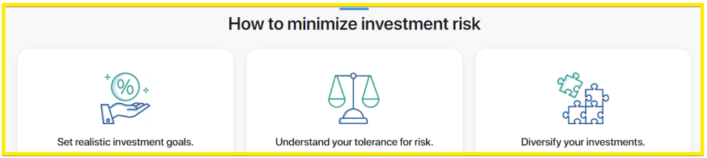 How to minimize investment risks - MyConstant Review