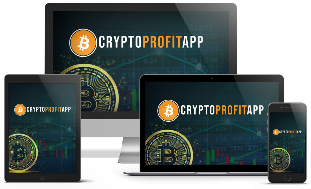 CryptoProfit App website screen example