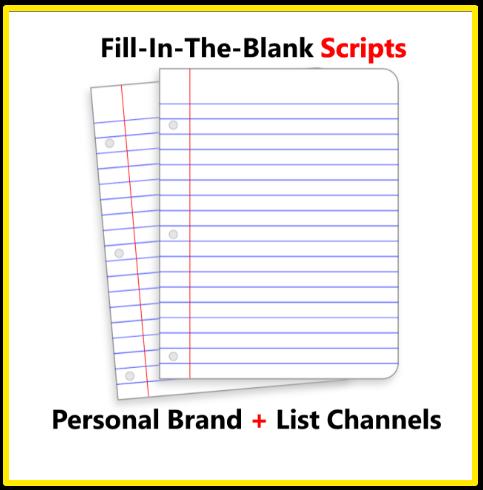 Fill in the blank video scripts bonus - Matt Par's Tube Mastery and Monetization review